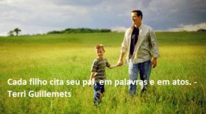 Frases Para Foto com Filho em portuguese